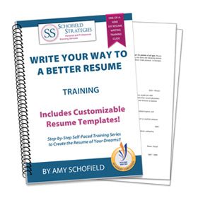 Write Your Way to a Better Resume Training
