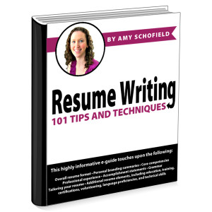 Resume Writing 101 Guides