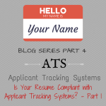 Is Your Resume Compliant with Applicant Tracking Systems?