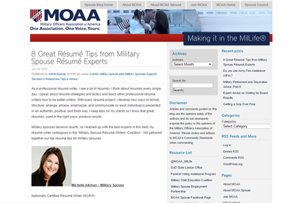 Military Spouse Resume Experts