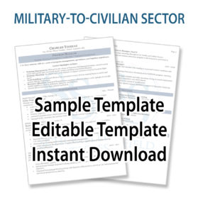 Military-to-Civilian-Sector-template